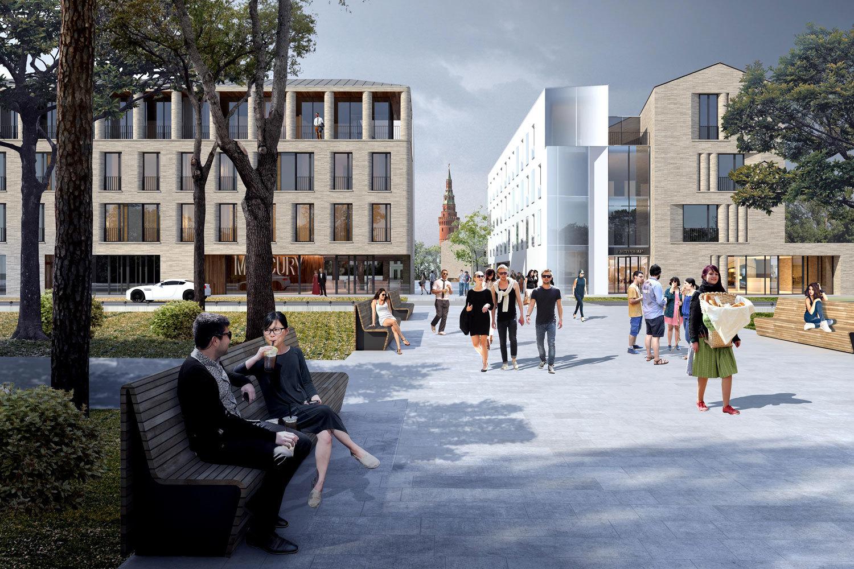 Russian architectural bureau u csergey skuratov architectsu d won the