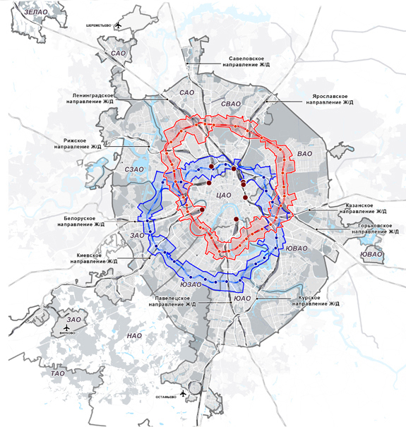 Схема транспортного каркаса москвы фото 136